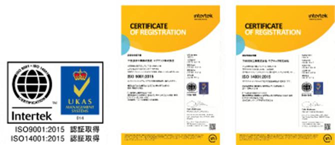 ISO9001:2015(品質マネジメント)